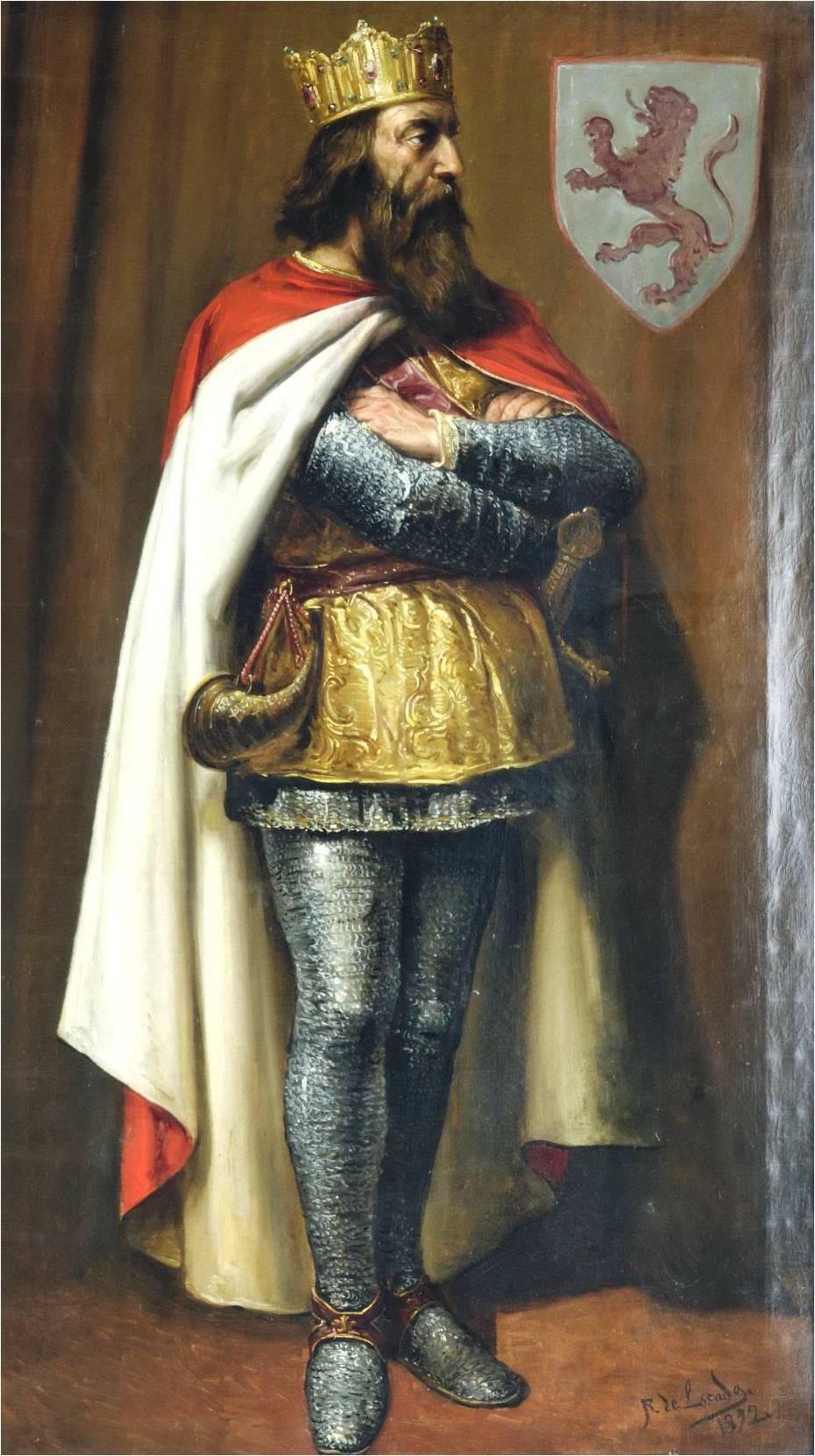 Миниатюра из Испанской королевской библиотеки.