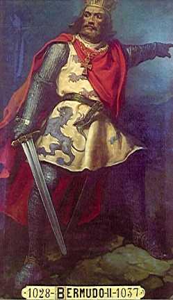 Король Бермудо III.