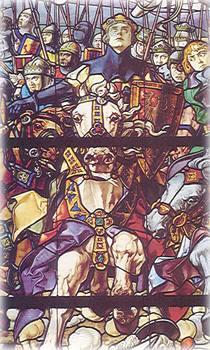 Король Санчо VII отправляется в поход на мусульман